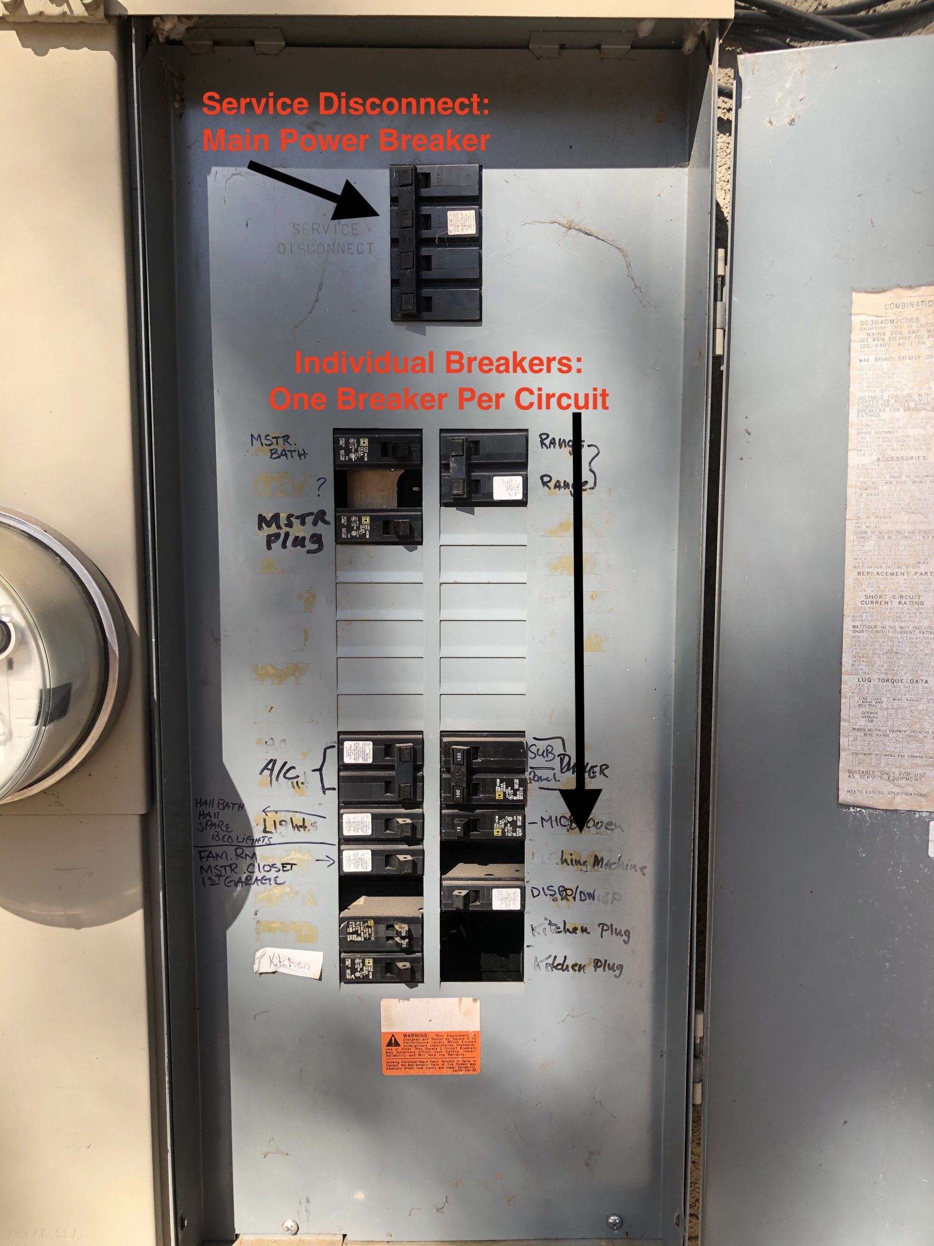main electrical
